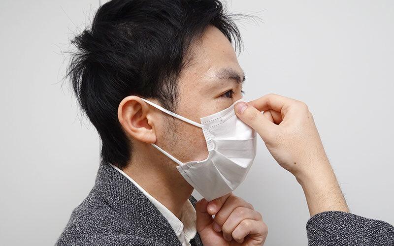 の 正しい 付け方 マスク