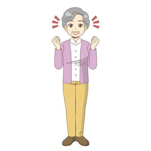 高齢者 おじいさん おばあさん の無料イラスト 介護アンテナ