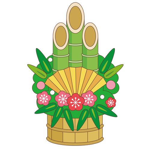 門松(季節・行事/その他一般・装飾)のイラスト