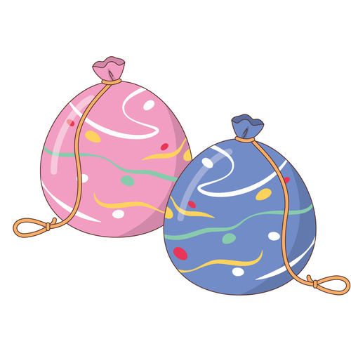 ヨーヨー(季節・行事/その他一般・装飾)のイラスト