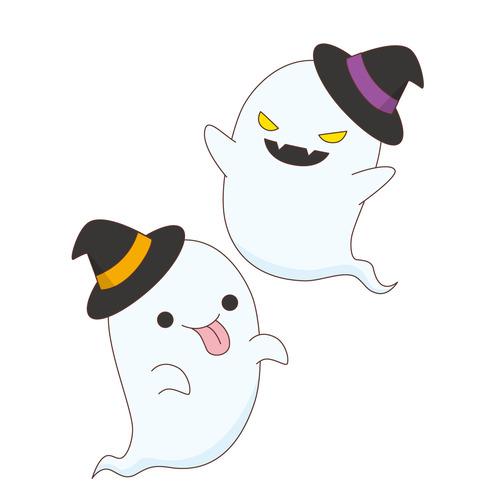ハロウィンのおばけ(季節・行事/その他一般・装飾)のイラスト