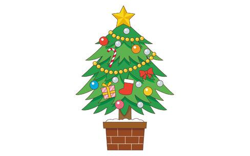 クリスマスツリー(季節・行事/その他一般・装飾)