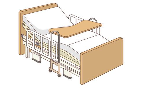 電動介護ベッド(その他福祉用具(ポータブルトイレ・介護ベッドなど)/福祉用具)