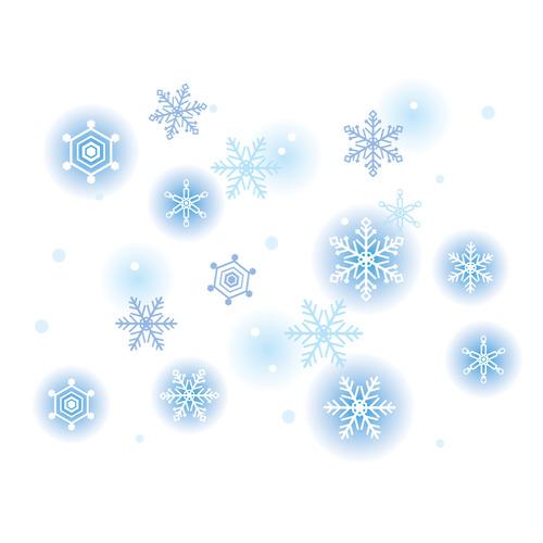 雪(天気/その他一般・装飾)のイラスト
