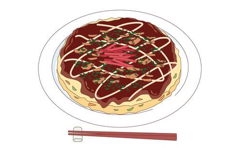 お好み焼き(食べ物・飲み物/その他一般・装飾)